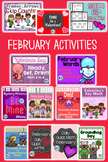Valentine's Day Bundle of February Resources