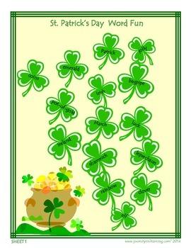 St. Patrick's Day Word Fun