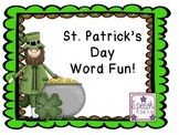 St. Patrick's Day Word Fun