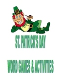St. Patrick's Day Word Games & Activities
