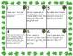 St. Patrick's Day Word Problem Switch!