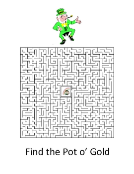 St. Patrick's Day Word Puzzles