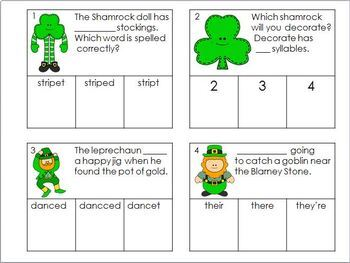 March Centers St. Patrick's Day Activities