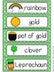 St. Patrick's Day Word Wall