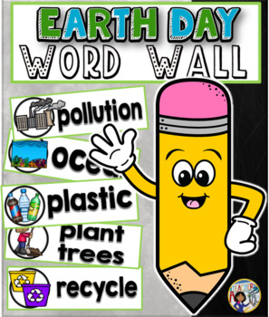 Earth Day Word Wall Cards Set