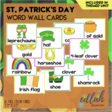 St. Patrick's Day Vocabulary Word Wall Cards (set of 12) - Full Color