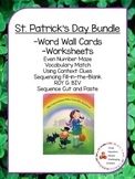 St. Patrick's Day Word Wall and Activities