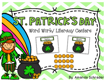 St. Patrick's Day Word Work: Common Core Aligned