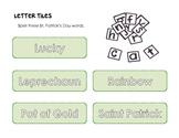 St. Patrick's Day Word Work Literacy Center
