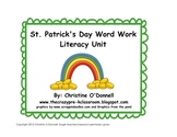 St. Patrick's Day Word Work Literacy Unit! CVC, read the room+