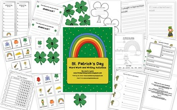 St. Patrick's Day Word Work and Writing Activites