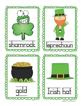 St. Patrick's Day: Write the Room