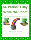 St. Patrick's Day Write the Room