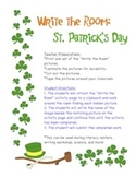 St. Patrick's Day - Write the Room Activity