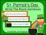 St. Patrick's Day Write the Room-Sentences