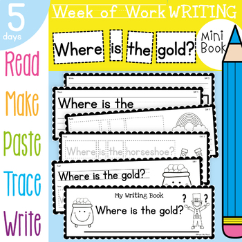 St Patrick's Day Writing Activities
