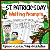 St. Patrick's Day Writing Prompts {Narrative, Informative