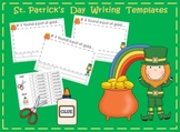 St. Patrick's Day Writing (3 templates included)