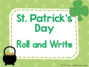 St. Patrick's Day Writing Activity