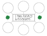 St. Patrick's Day Writing Activity - Graphic Organizer and Writing Paper