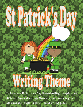 St. Patrick's Day Writing Activity Packet