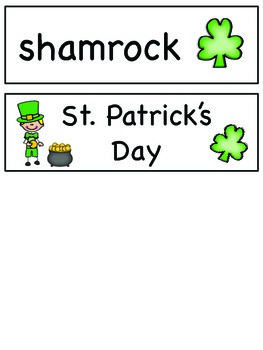 St. Patrick's Day - Writing BUNDLE