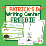 St. Patrick's Day FREE Activity: Writing Center Activities