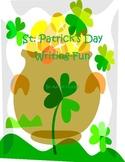 St. Patrick's Day Writing Fun
