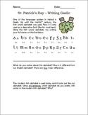 St. Patrick's Day - Writing Gaelic