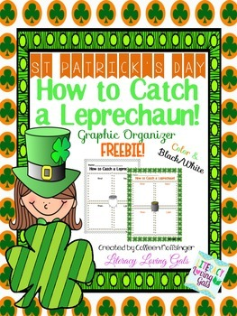 St. Patrick's Day Writing Graphic Organizer: How to Catch