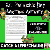 FREE St. Patrick's Day Writing Activity