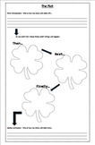 St. Patrick's Day Writing - My Lucky Day Graphic organizers