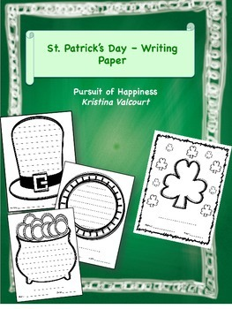 St. Patrick's Day - Writing Paper