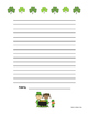 FREE St. Patrick's Day Writing Paper