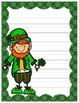 St. Patrick's Day Writing Paper Freebie by Creatively Crazy With Learning