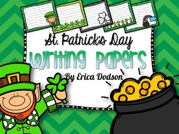 St. Patrick's Day Writing Papers