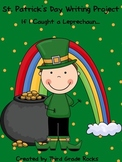St. Patrick's Day Writing Project about Leprechauns