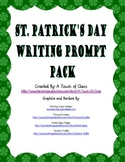St. Patrick's Day Writing Prompt Pack
