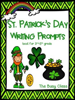 St. Patrick's Day and March Writing Prompts