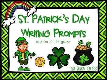 St. Patrick's Day Writing Prompts (K-2)