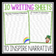 ST. PATRICK'S DAY WRITING PROMPTS, POSTER , & BOOKMARKS