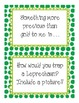 St Patrick's Day Writing Prompts and Paper Grades 1-5