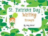 St. Patrick's Day Writing Prompts with Common Core Alignment
