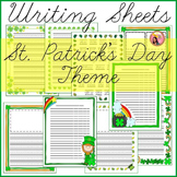 St. Patricks Day Writing Sheets