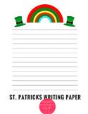 St. Patricks Day Writing Stationary