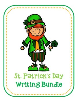St. Patrick's Day Writing Templates! {With Prompts!}