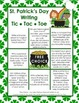 St. Patrick's Day Writing - Tic Tac Toe