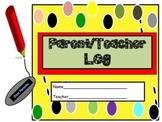 Parent/Teacher Log