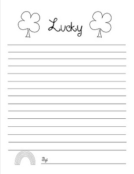 St, Patrick's Day Writing and Fun Activites