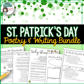 St. Patrick's Day Writing and Poetry Bundle